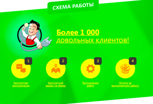 Landing page электрика